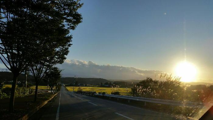 おおらかな秋の夕日★和代さんのコト・・・の巻